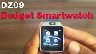 DZ09 Standalone Smartwatch Review (Facebook And Camera)