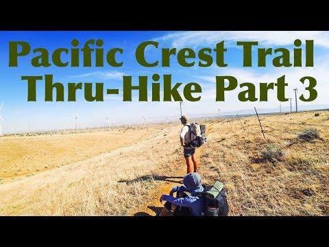 Pacific Crest Trail Thru-Hike Part 3: The Desert - Casa de Luna to Lone Pine (4K)