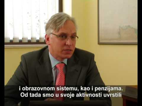 Interview: Jan-Peter Olters World Bank Representative Country Office Montenegro; Part 1