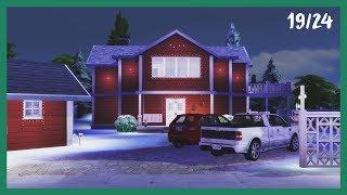 Josefin ASMR's Julkalender 19/24 | The Sims 4 - Christmas House!