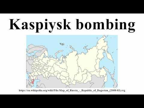 Kaspiysk bombing