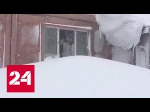 """""""Погода 24"""": на Сахалин обрушился мощный циклон - Россия 24"""