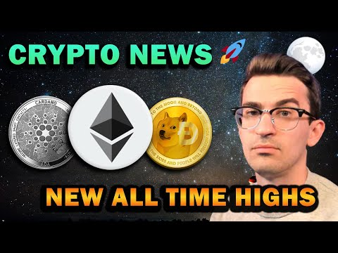 CRYPTO NEWS - Altcoins Surge To New All-Time Highs 🚀