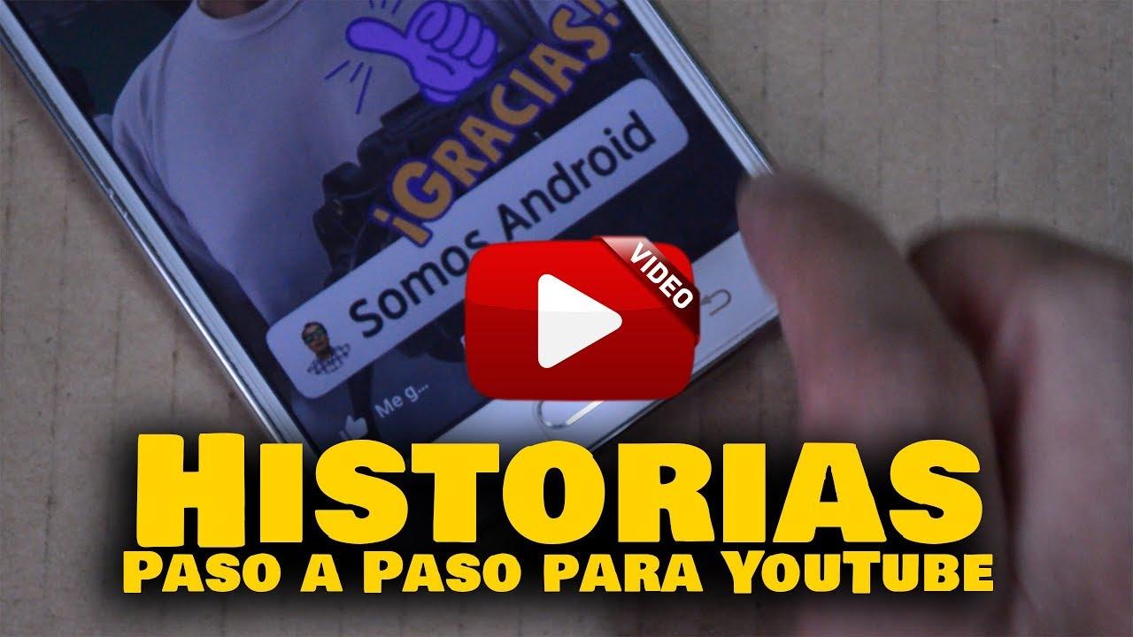 👉 Cómo Crear Historias VIRALES para YouTube en Android | Somos Android