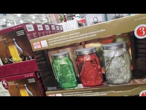 SouthernASMR Sounds - Costco Walk-Through (Christmas Stuff!)