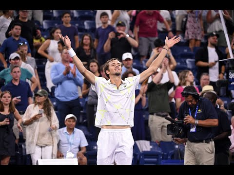 Daniil Medvedev Vs Feliciano Lopez | US Open 2019 R3 Highlights
