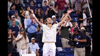 Daniil Medvedev vs Feliciano Lopez | US Open 2019 R3 Highlights