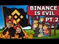Binance Exposed 2: Forgery, Roger Ver and Bots 😱 Stop The Beast, DEX's FTW!