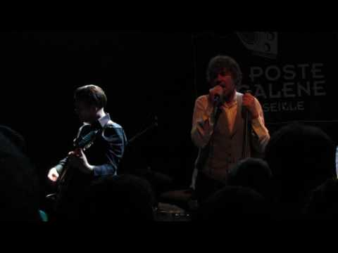 And Also The Trees - Dialogue HD live in Marseille FRANCE (Le Poste à Galène) 13/10/16