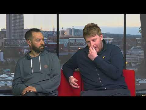 Sheffield Live TV Daniel Gordon & Danny Hall 29.3.18 Part 2