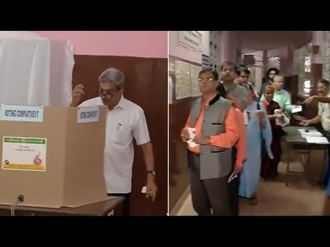 Goa Elections: Polling begins, Manohar Parrikar casts his vote