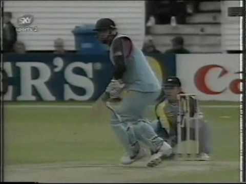 Yorkshire v Kent Sunday League Match Cricket 1997