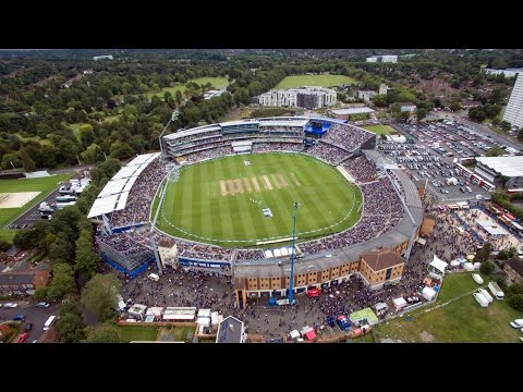The Ashes - Edgbaston Cricket Ground 2015 - DJI Phantom