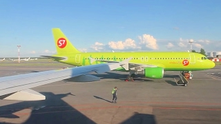 S7 Siberia Airlines A319 Moscow Domodedovo - Kazan Safety, Takeoff, Inflight & Landing(Airline: S7 Siberia Airlines Aircraft: Airbus A319-114 Registration: VP-BTP Route: Moscow Domodedovo Airport - Kazan International Airport Flight time: 1 hour ..., 2014-06-30T16:38:06.000Z)