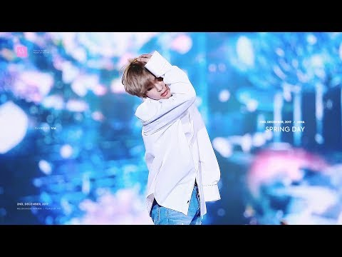 171202 뷔 봄날 직캠 |Spring Day V Focus