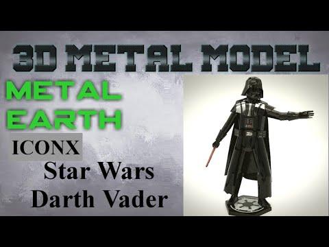 Metal Earth ICONX/Premium Series Build - Star Wars Darth Vader