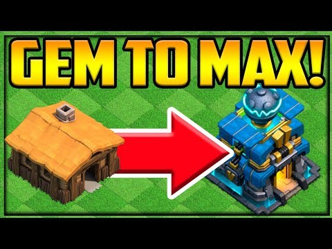 Gem To Max - Clash Of Clans Gem That Rush NO HEROES Episode 1