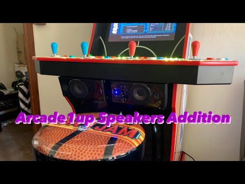 Arcade1up Speaker Mod from Leefo 3