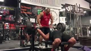 Эрик Лилибридж жмёт 226 кг без экипировки!(, 2016-11-11T17:06:44.000Z)