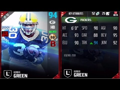 "Legend Ahman Green ""LTD"" 