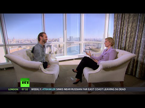 'Never give up, dream big, you never know your limits' – inspirational interview with Nick Vujicic