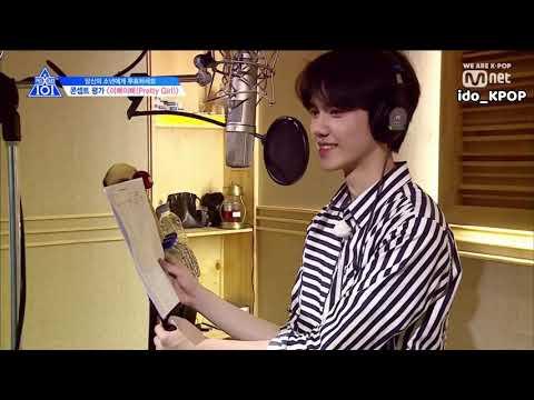 (INDO SUB) Produce X 101 Pretty Girl Recording