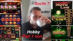 G€NU$$  👁 ALLES VERZOCKT! Teures Hobby oder Glücksspielautomatensucht ? Novoline, Merkur