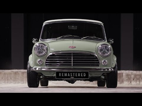 Classic MINI REMASTERED by David Brown