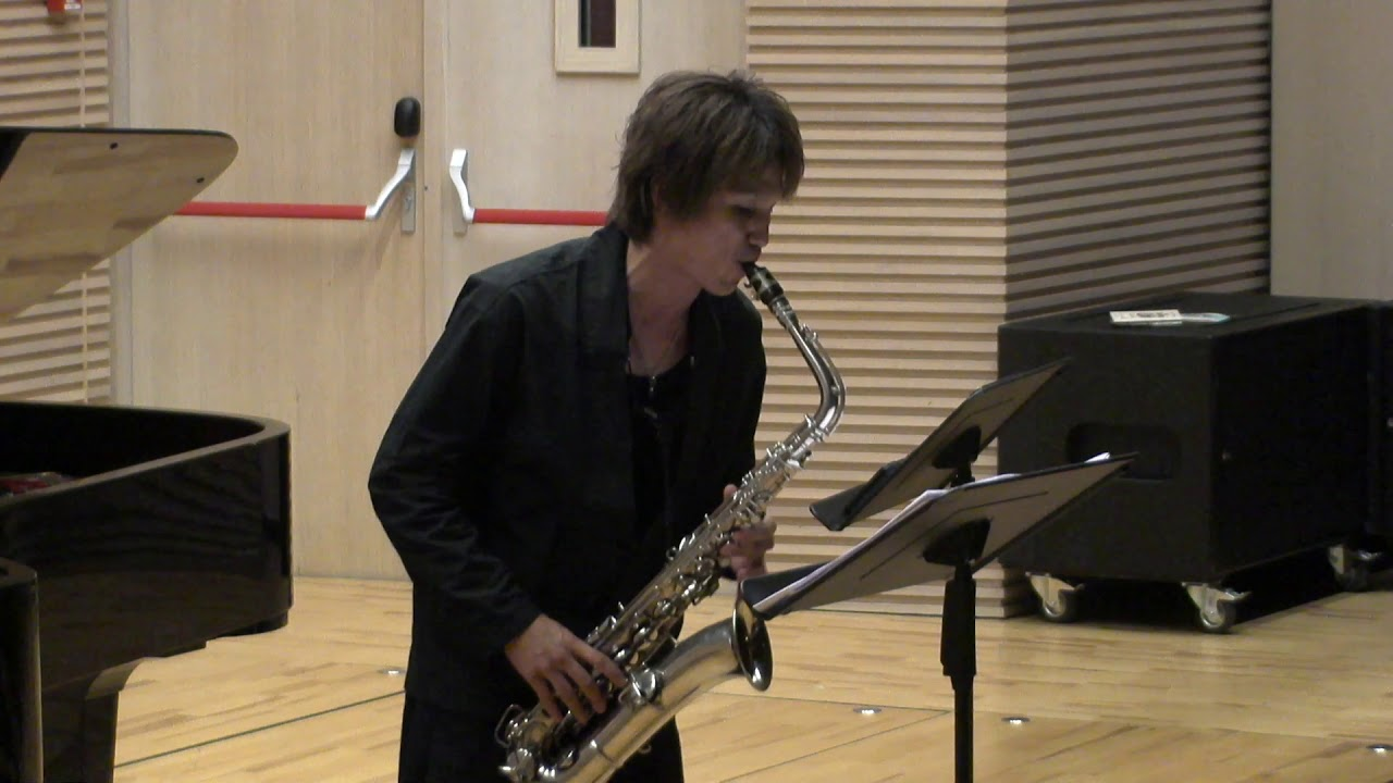 Jazz Suite for CMelody Sax by Pablo alan (2&4 Mov) - Yo Matsushita -WSC2018 #adolphesax