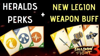 Shadow Fight 3 New Update New Fighting Style Heralds Perk and New Legion Buff Boost
