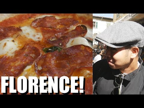 ITALIAN FOOD in FLORENCE is GREAT // What You Must Eat ITALY 2017