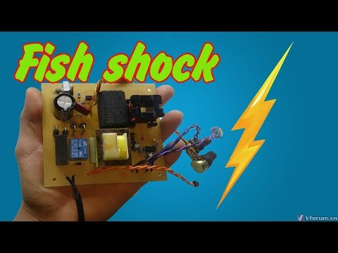 How To Make Fish Shock Electric Machine From UPS Simple   | How To Make