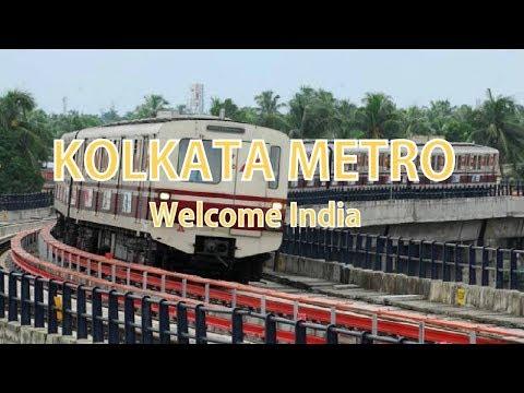 Superb Speed of Kolkata Metro (India's first metro railway) | latest 2018 | Welcome India thumbnail