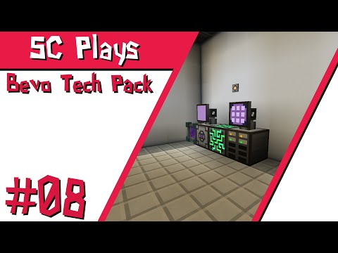 "SC Plays: Minecraft | Bevo Tech Pack - E08 ""Simple AE2 System"""