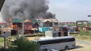 Пожар в Лабытнанги