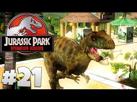 Jurassic Park: Operation Genesis - Part 21: Release The Dinosaurs!