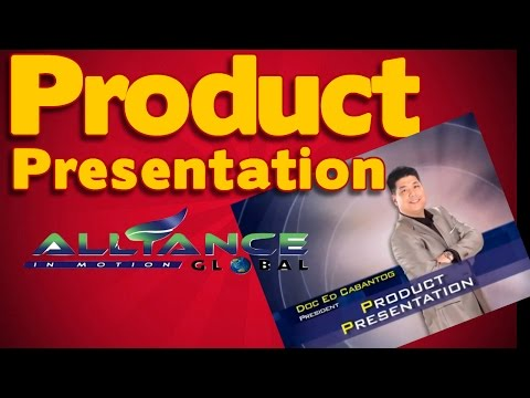 AIM Global Product Presentation by Dr  Ed Cabantog