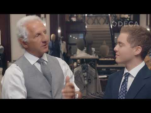 Joseph Abboud talks Fashion and Generation Z with DECA