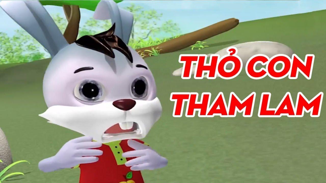 THỎ CON THAM LAM – Phim Hoạt Hình 3D – Phim Hoạt Hình HÀI HƯỚC VUI NHỘN Hay Nhất Cho Bé