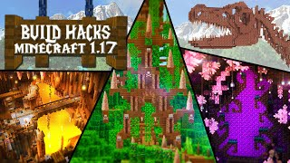 INSANE New Minecraft Builds 1.17 Caves & Cliffs Update!