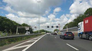 Dashcam Beelden Baambrugge: A2 Knooppunt Holendrecht ----》A9 Knooppunt Badhoevedorp 》A4 Amsterdam.
