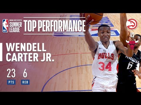 Wendell Carter Jr. Puts up 23pts & 6rebs in 2018 MGM Resorts Summer League Action