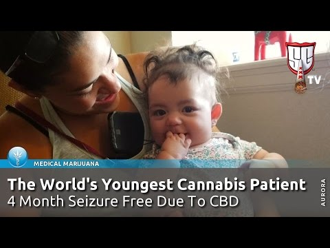 World's Youngest Cannabis Patient - 3 Month Old Infant Now Seizure Free Due To CBD - SGTV Colorado