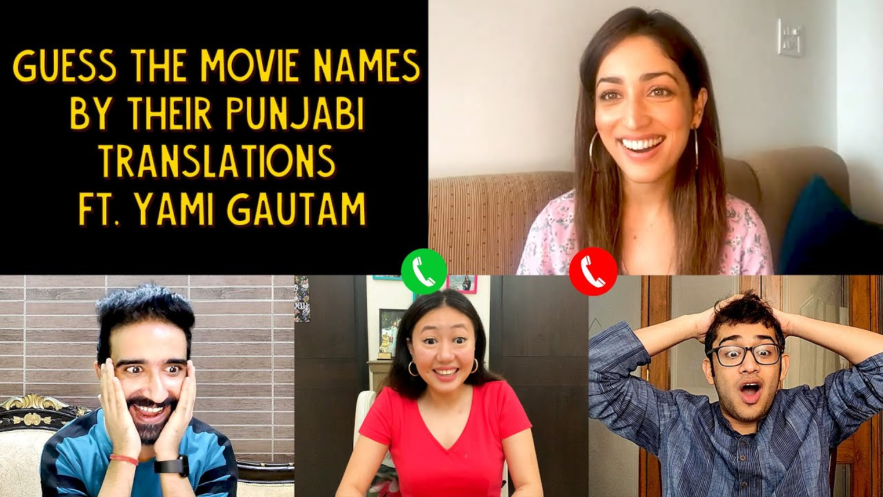 Guess The Movie Names By Their Punjabi Translations | Ft. Yami Gautam | Ok Tested