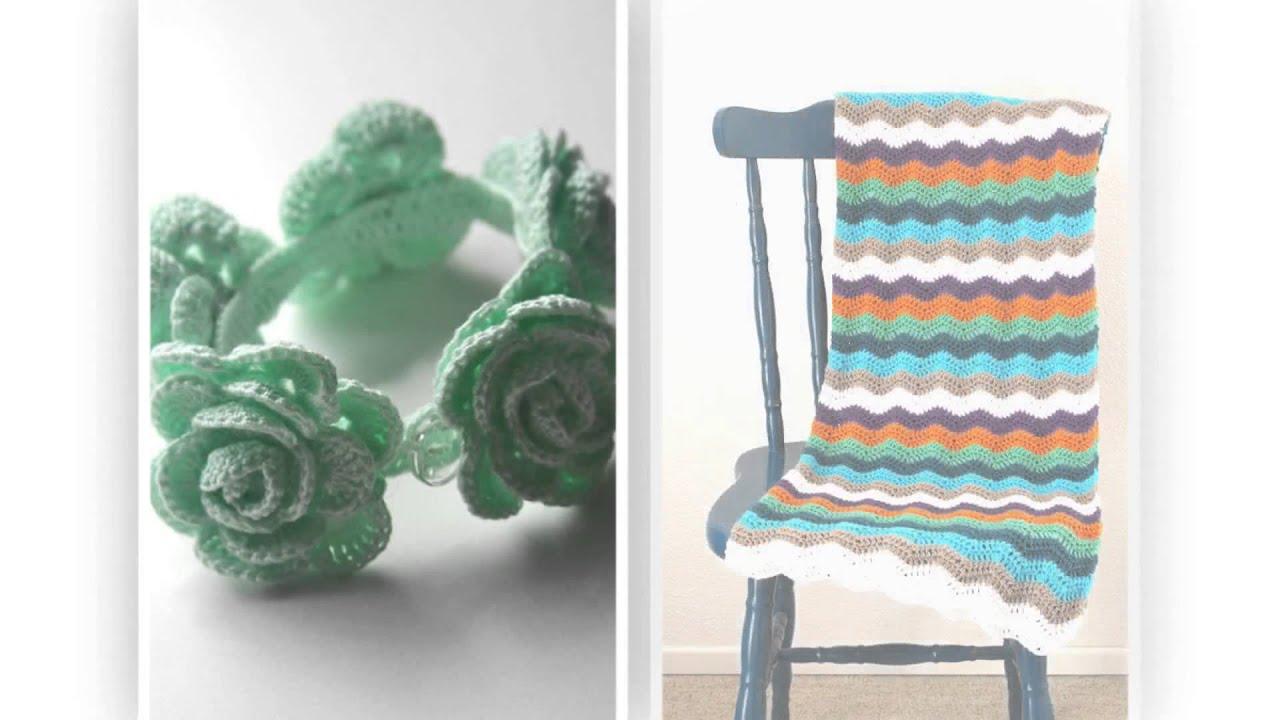 crocheted walker bag pattern - YouTube