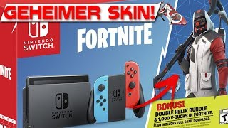 "GEHEIMER NINDENDO SWITCH SKIN! | Fortnite ""Double Helix"" Bundle is coming soon!"