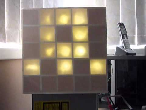 DIY Daft Punk Table Display
