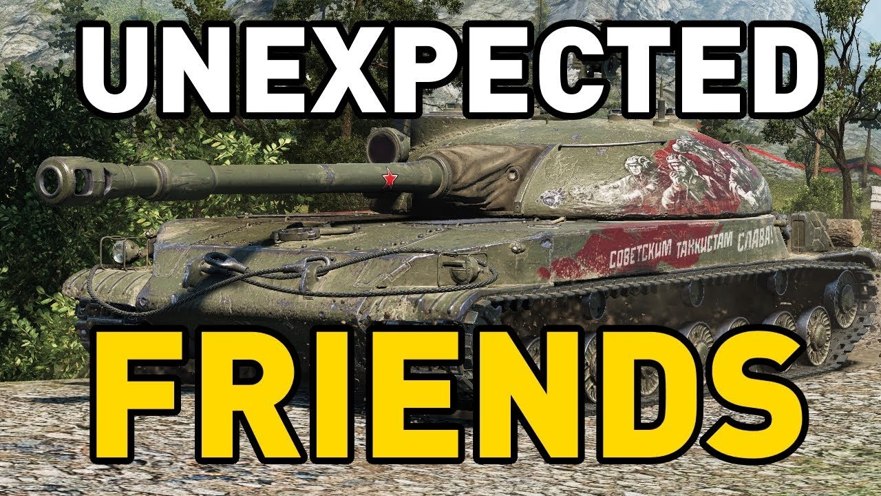 World of Tanks || STG Guard - Unexpected Friends!