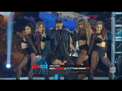 Daddy Yankee perform - Gasolina/Limbo/Despacito (Live At Somos Live) SOMOƧ LIVE