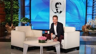 Justin Hartley Gets A Surprise From His 'this Is Us' Co-stars